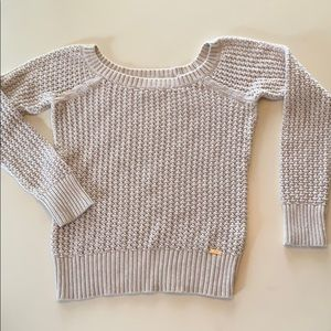 Guess Scoop Neck Sweater, Size M